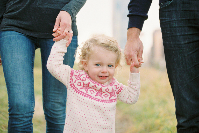 little girl in rotary park
