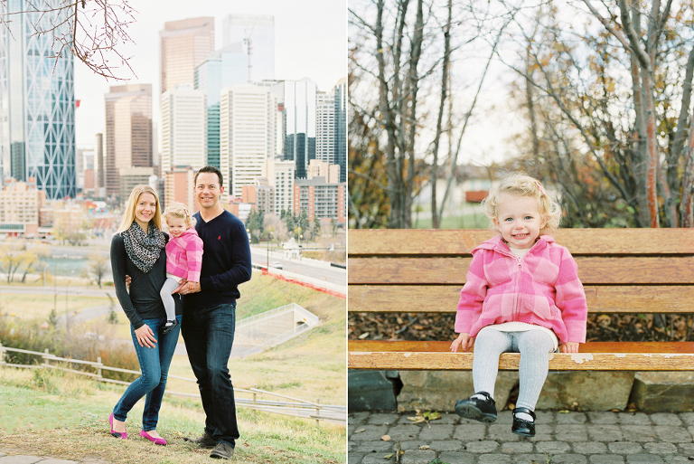 family photos at rotary park