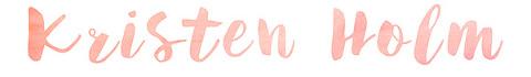 Kristen Holm Photography Logo