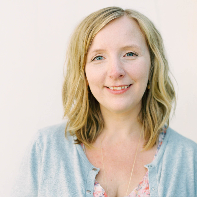portrait of photographer Kristen Holm